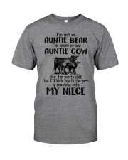 I'm More Of An Auntie Cow Classic T-Shirt front