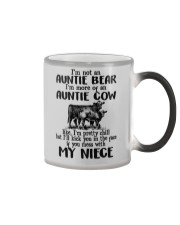I'm More Of An Auntie Cow Color Changing Mug thumbnail