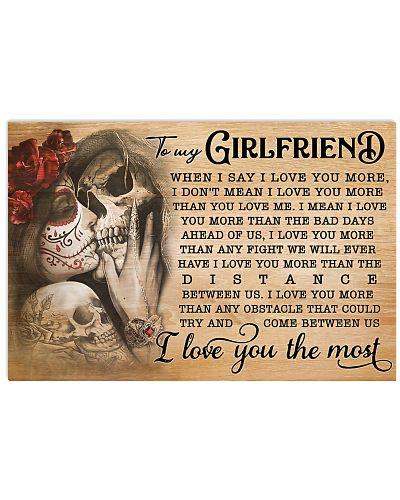 Skull Girlfriend I Love You More GG
