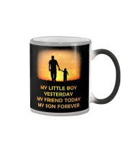 My Little Boy Yesterday My Friend Today My Son  Color Changing Mug thumbnail