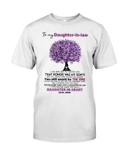 I Give You My Promise To Be By Your Side Husband Classic T-Shirt thumbnail
