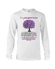 I Give You My Promise To Be By Your Side Husband Long Sleeve Tee thumbnail