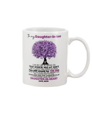I Give You My Promise To Be By Your Side Husband Mug front