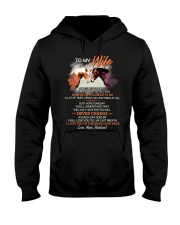 Sometimes It Is Hard To Find Words To Tell You  Hooded Sweatshirt thumbnail