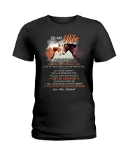 Sometimes It Is Hard To Find Words To Tell You  Ladies T-Shirt thumbnail