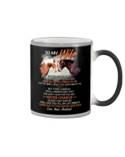 Sometimes It Is Hard To Find Words To Tell You  Color Changing Mug thumbnail