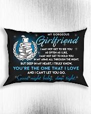 Teacher Girlfriend Good Night Sleep Tight Pillow Rectangular Pillowcase aos-pillow-rectangle-front-lifestyle-4