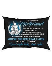 Teacher Girlfriend Good Night Sleep Tight Pillow Rectangular Pillowcase front