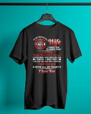 Firefighter Wife I Am Your Forever Classic T-Shirt lifestyle-mens-crewneck-front-3