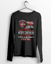 Firefighter Wife I Am Your Forever Long Sleeve Tee lifestyle-unisex-longsleeve-front-3