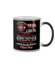 Firefighter Wife I Am Your Forever Color Changing Mug thumbnail
