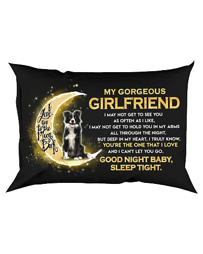 Collie Girlfriend Sleep Tight