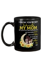 I Know You're Not Technically My Mom Family Mug back