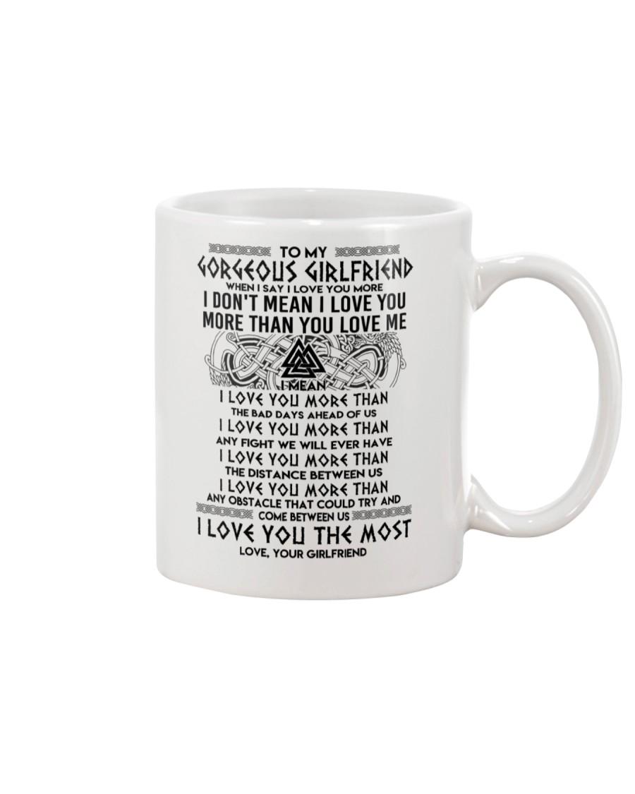 Viking Girlfriend I Love You More Mug