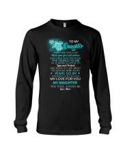 When Life Gets Hard And You Feel All Alone Turtle  Long Sleeve Tee tile