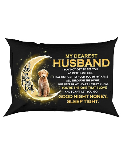 Goldendoodle Husband Sleep Tight