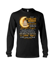Sloth Husband Clock Ability Moon Long Sleeve Tee thumbnail