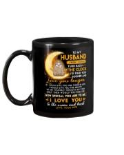 Sloth Husband Clock Ability Moon Mug back