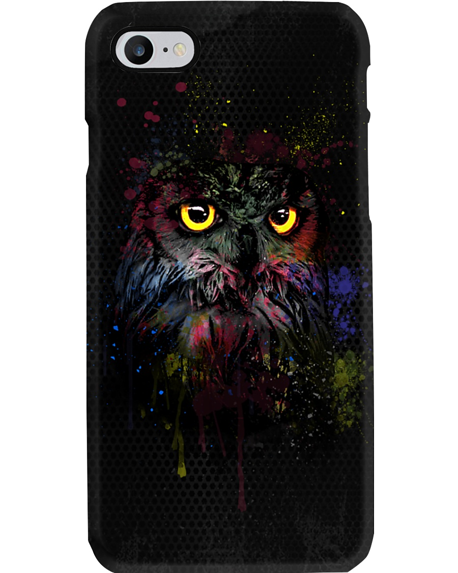 Owl In Shadow  Phone Case
