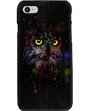 Owl In Shadow  Phone Case i-phone-8-case