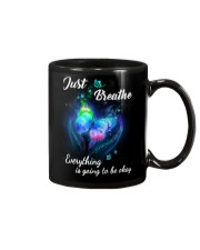 Just Breathe Everything Going Okay Butterfly Mug thumbnail