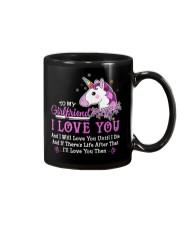 Unicorn Girlfriend Life After That Mug front