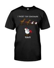 I Raise Tiny Dinosaurs Farm Classic T-Shirt front