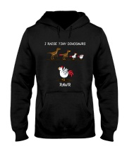 I Raise Tiny Dinosaurs Farm Hooded Sweatshirt thumbnail