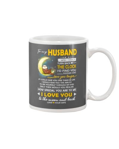 Otter Husband Clock Ability Moon Mug