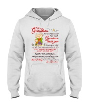 Stay There Forever Grandson Hooded Sweatshirt thumbnail