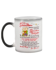 Stay There Forever Grandson Color Changing Mug color-changing-left