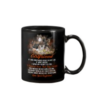 I Gave My Heart To You Wolf Mug front