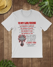 Firefighter Girlfriend The Answer Is You Classic T-Shirt lifestyle-mens-crewneck-front-18