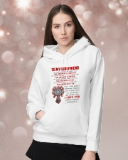 Firefighter Girlfriend The Answer Is You Hooded Sweatshirt lifestyle-holiday-hoodie-front-1