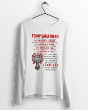 Firefighter Girlfriend The Answer Is You Long Sleeve Tee lifestyle-unisex-longsleeve-front-3
