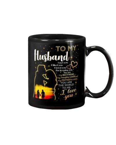 Husband I Like You I love You Mug CC