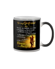 Girlfriend Happily Ever After Color Changing Mug tile