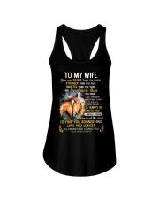 I'll Never Stop Loving You Horse  Ladies Flowy Tank thumbnail