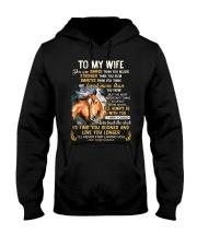 I'll Never Stop Loving You Horse  Hooded Sweatshirt thumbnail