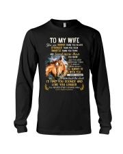 I'll Never Stop Loving You Horse  Long Sleeve Tee thumbnail