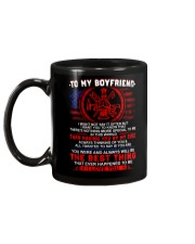 Firefighter Boyfriend Having You By My Side Mug back
