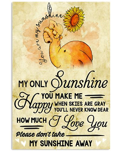You Are My Sunshine Elephant