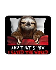 Sloth And That's How I Saved The World Mousepad thumbnail