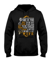 She Is The Bolt To My Nut Mechanic Hooded Sweatshirt thumbnail