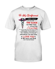 Nurse Girlfriend Clock Ability Moon Classic T-Shirt thumbnail