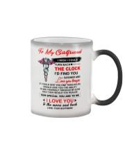 Nurse Girlfriend Clock Ability Moon Color Changing Mug thumbnail