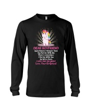 Sometimes I Wonder How You Put Up With Me Unicorn  Long Sleeve Tee thumbnail