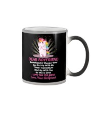 Sometimes I Wonder How You Put Up With Me Unicorn  Color Changing Mug thumbnail