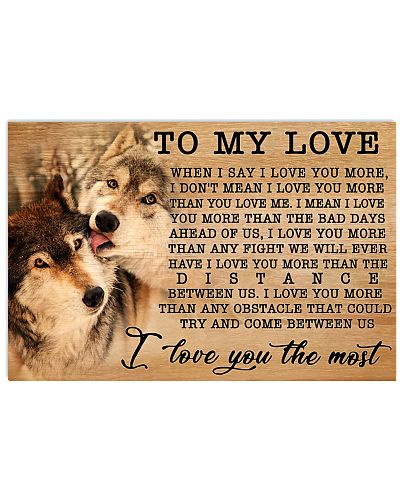 Wolf I Love You More GG