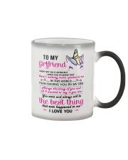Unicorn Girlfriend Having You By My Side Color Changing Mug thumbnail